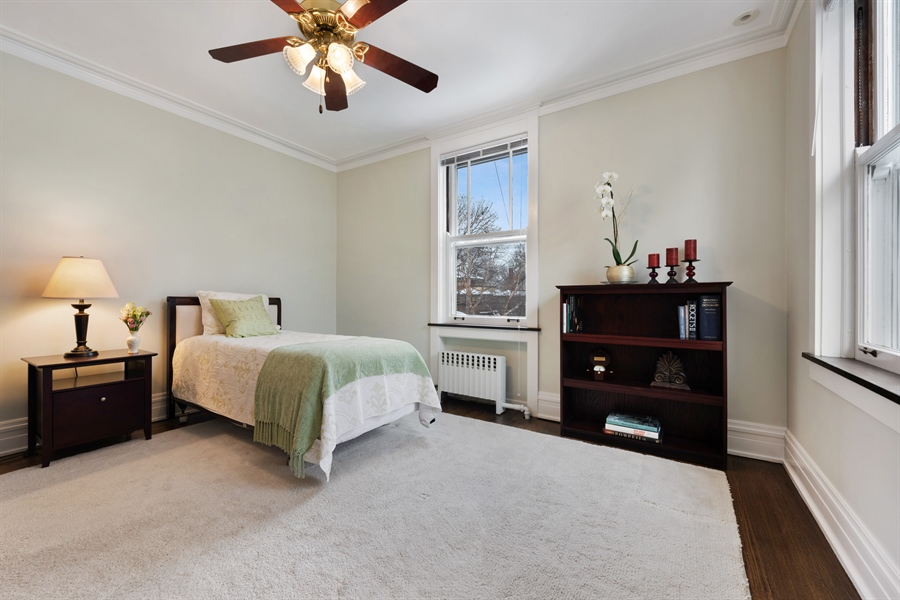 Real Estate Photography - 1021 Forest, Evanston, IL, 60201 - 2nd Bedroom