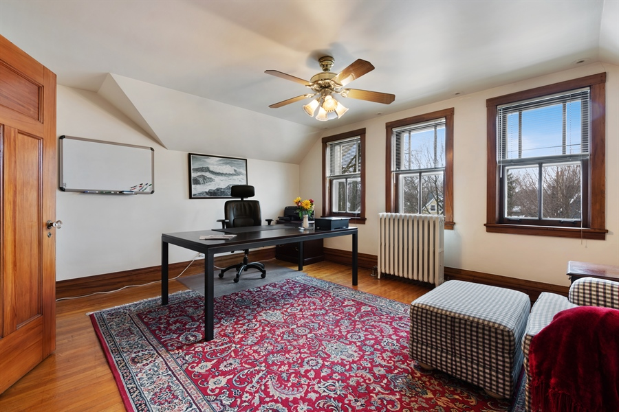 Real Estate Photography - 1021 Forest, Evanston, IL, 60201 - Office/Bedroom Option