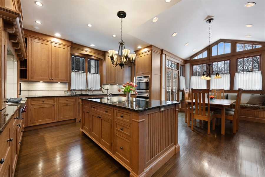 Real Estate Photography - 1021 Forest, Evanston, IL, 60201 - Kitchen
