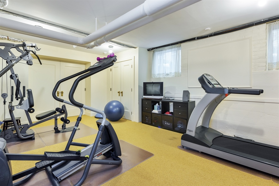 Real Estate Photography - 1021 Forest, Evanston, IL, 60201 - Exercise Room