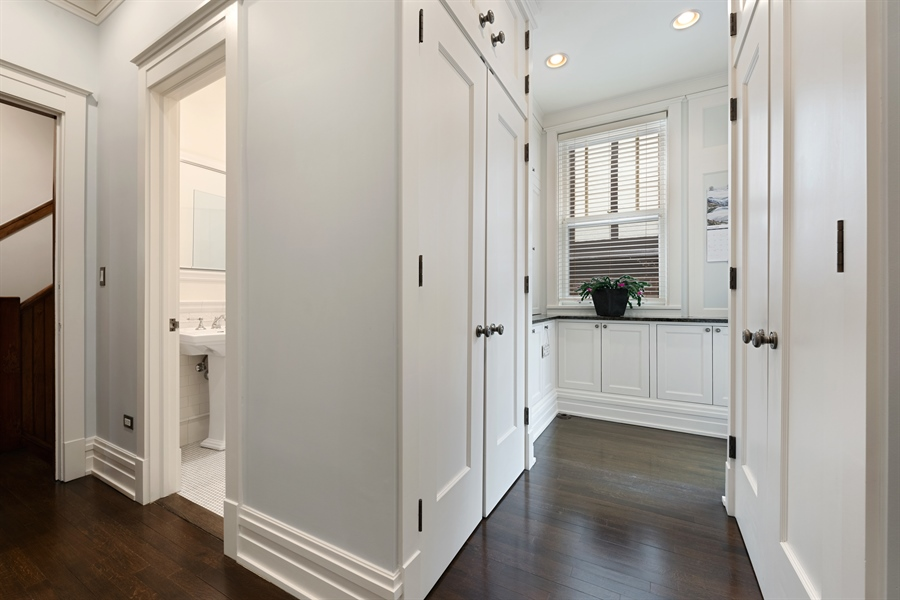 Real Estate Photography - 1021 Forest, Evanston, IL, 60201 - Mudroom