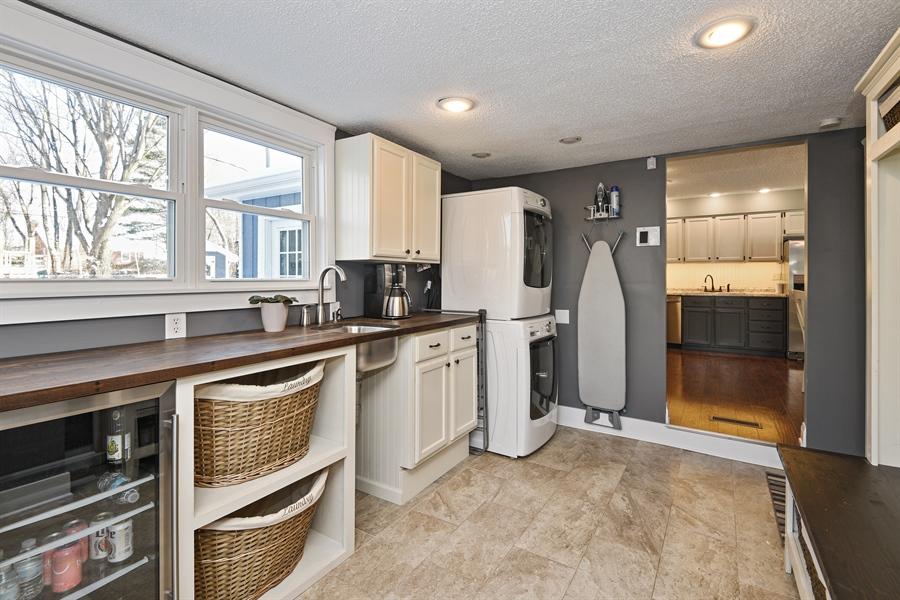 Real Estate Photography - 185 Hunter Dr, Benton Harbor, MI, 49022 - Laundry Room
