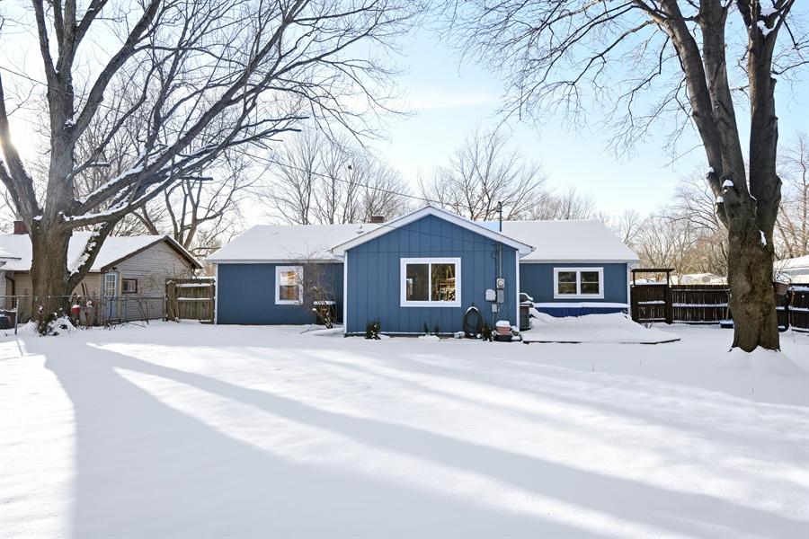 Real Estate Photography - 185 Hunter Dr, Benton Harbor, MI, 49022 - Rear View