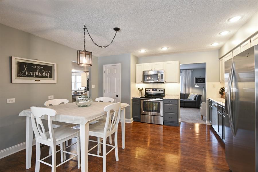 Real Estate Photography - 185 Hunter Dr, Benton Harbor, MI, 49022 - Kitchen / Dining Room