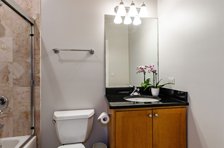 Real Estate Photography - 4901 N Winthrop Ave, Chicago, IL, 60640 - 2nd Bathroom