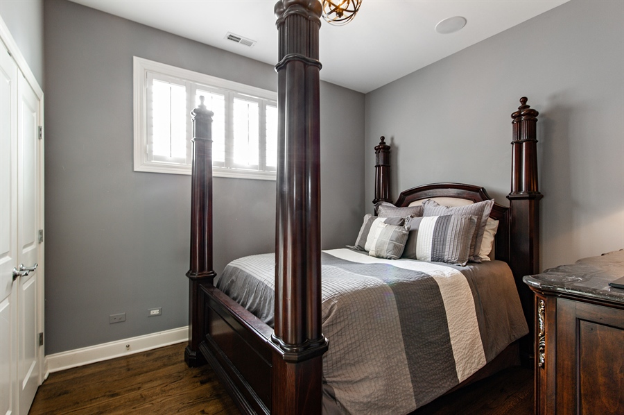 Real Estate Photography - 4901 N Winthrop Ave, Chicago, IL, 60640 - 4th Bedroom