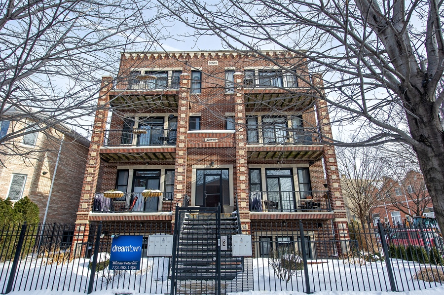 Real Estate Photography - 4901 N Winthrop Ave, Chicago, IL, 60640 - Front View