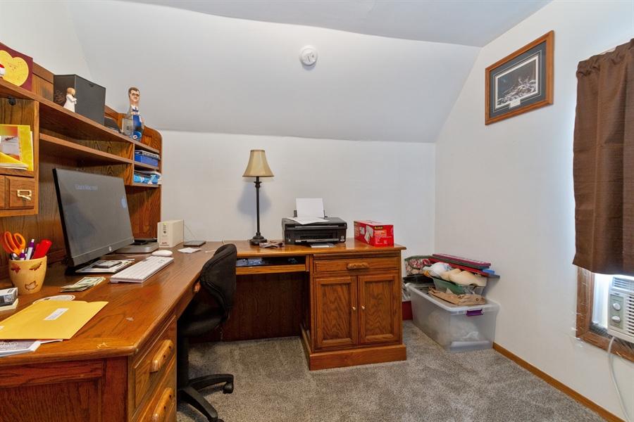 Real Estate Photography - 1265 Racine St, Delavan, WI, 53115 - 2nd Bedroom