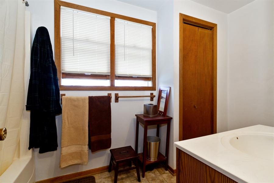 Real Estate Photography - 1265 Racine St, Delavan, WI, 53115 - Bathroom