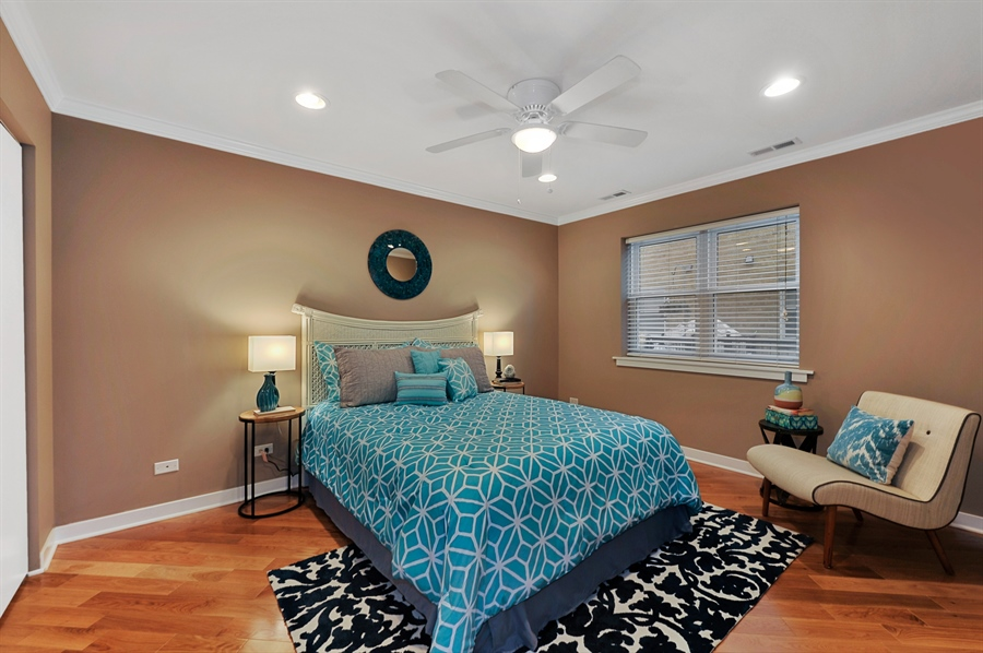 Real Estate Photography - 2525 W. Bryn Mawr, 204, Chicago, IL, 60659 - Second Bedroom