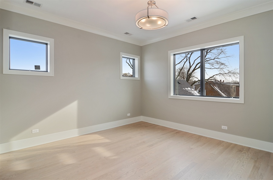 Real Estate Photography - 1731 W Roscoe St, Chicago, IL, 60657 - Master Bedroom