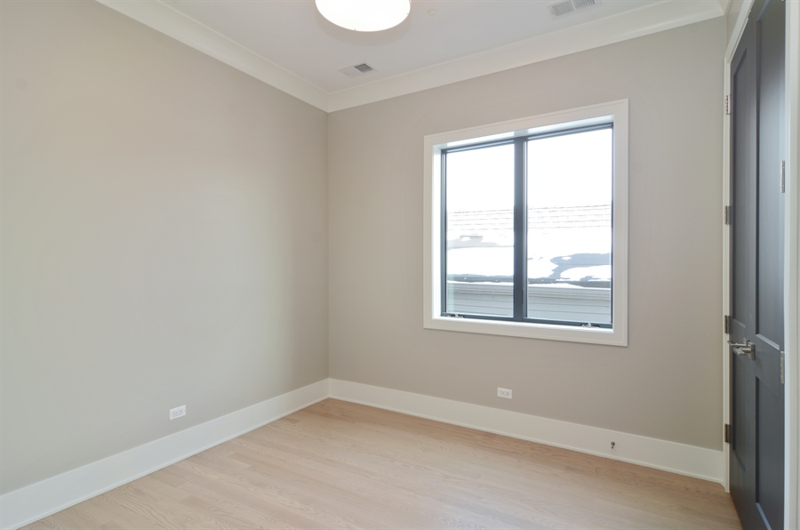 Real Estate Photography - 1731 W Roscoe St, Chicago, IL, 60657 - 2nd Bedroom