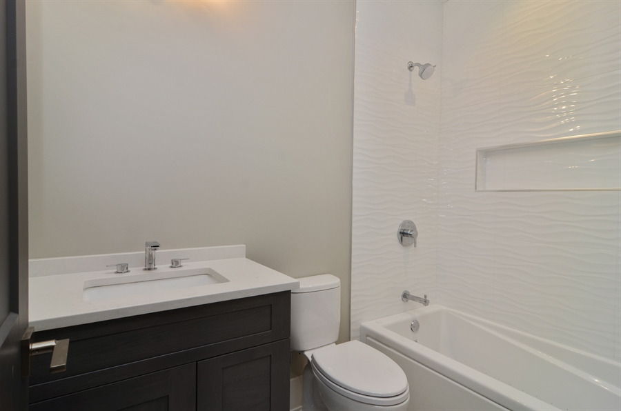 Real Estate Photography - 1731 W Roscoe St, Chicago, IL, 60657 - Bathroom
