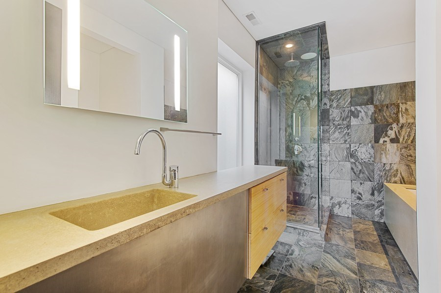 Real Estate Photography - 527 N Wood, Chicago, IL, 60622 - Master Bathroom