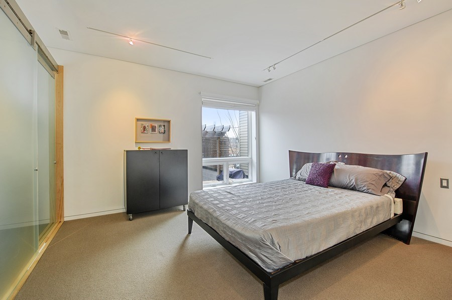 Real Estate Photography - 527 N Wood, Chicago, IL, 60622 - Master Bedroom