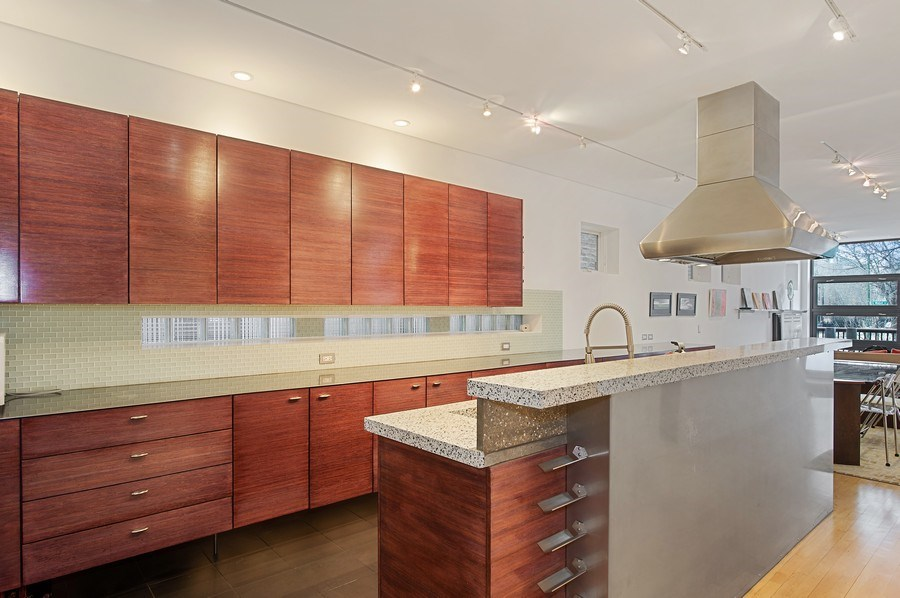 Real Estate Photography - 527 N Wood, Chicago, IL, 60622 - Kitchen