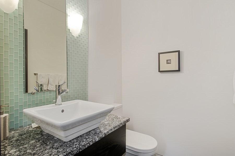 Real Estate Photography - 527 N Wood, Chicago, IL, 60622 - Half Bath