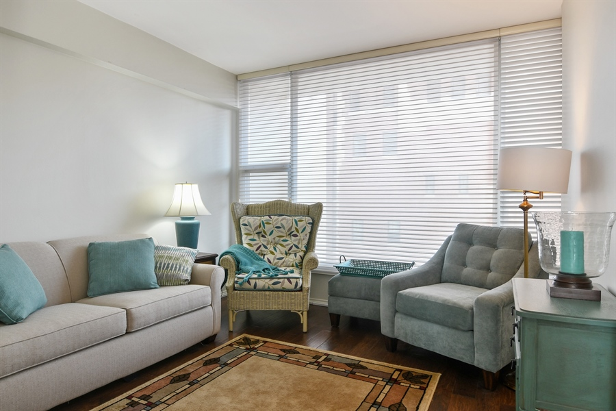 Real Estate Photography - 3200 N. Lake Shore, 1511, Chicago, IL, 60657 - Bedroom