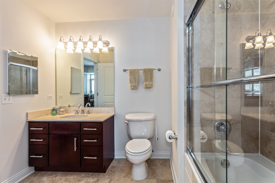Real Estate Photography - 230 W Division, 1306, Chicago, IL, 60610 - Bathroom
