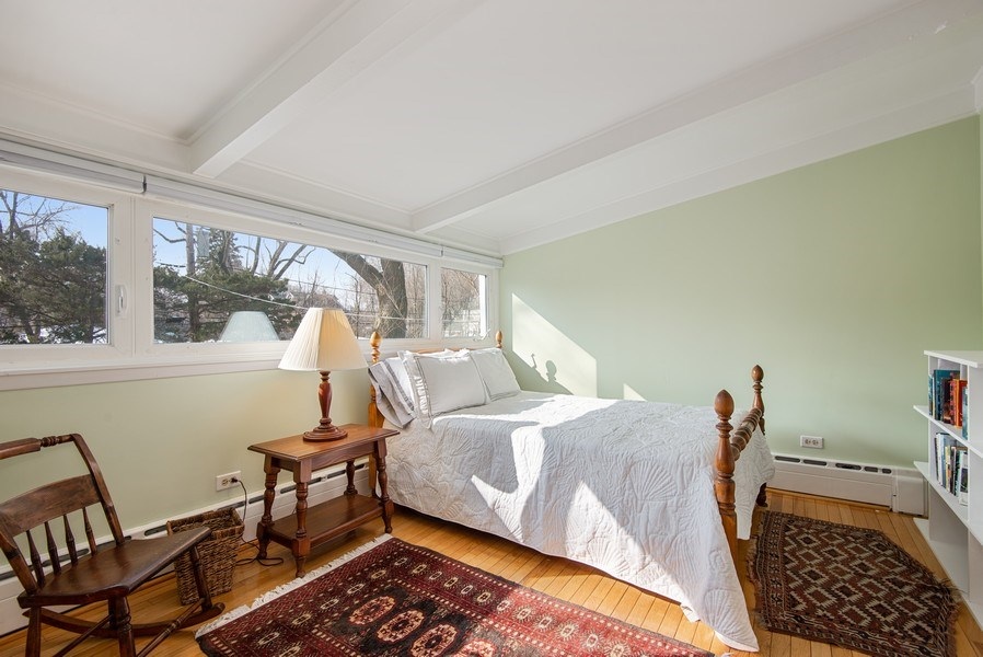 Real Estate Photography - 806 Clinton Place, evanston, IL, 60201 - 3rd Bedroom
