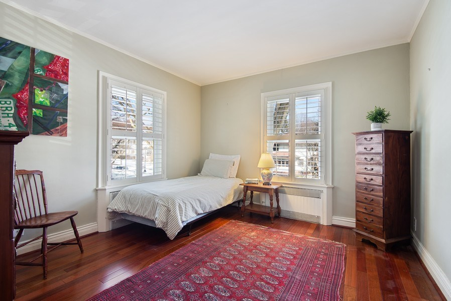 Real Estate Photography - 806 Clinton Place, evanston, IL, 60201 - 2nd Bedroom