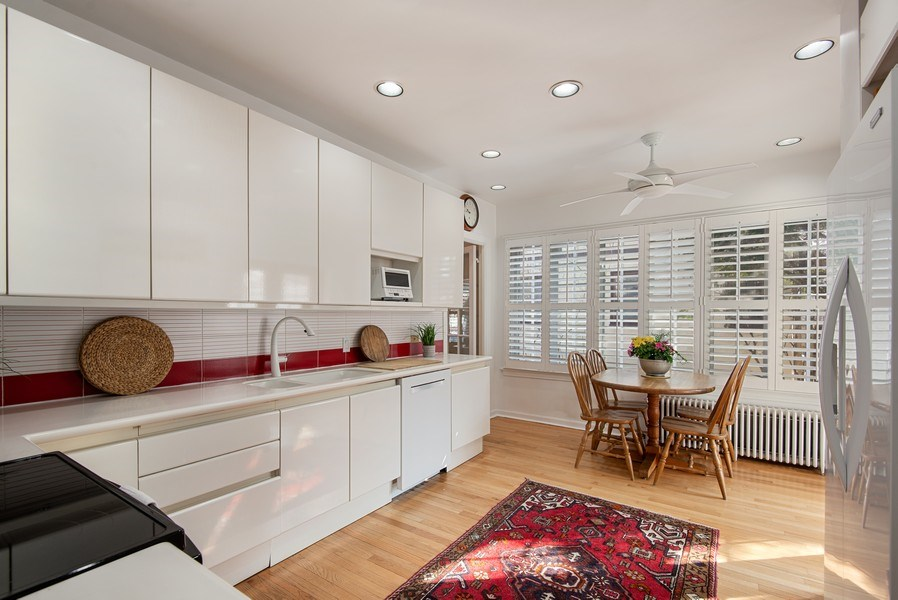 Real Estate Photography - 806 Clinton Place, evanston, IL, 60201 - Kitchen / Breakfast Room