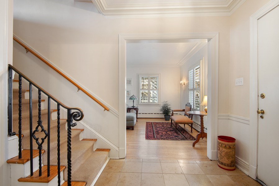 Real Estate Photography - 806 Clinton Place, evanston, IL, 60201 - Foyer