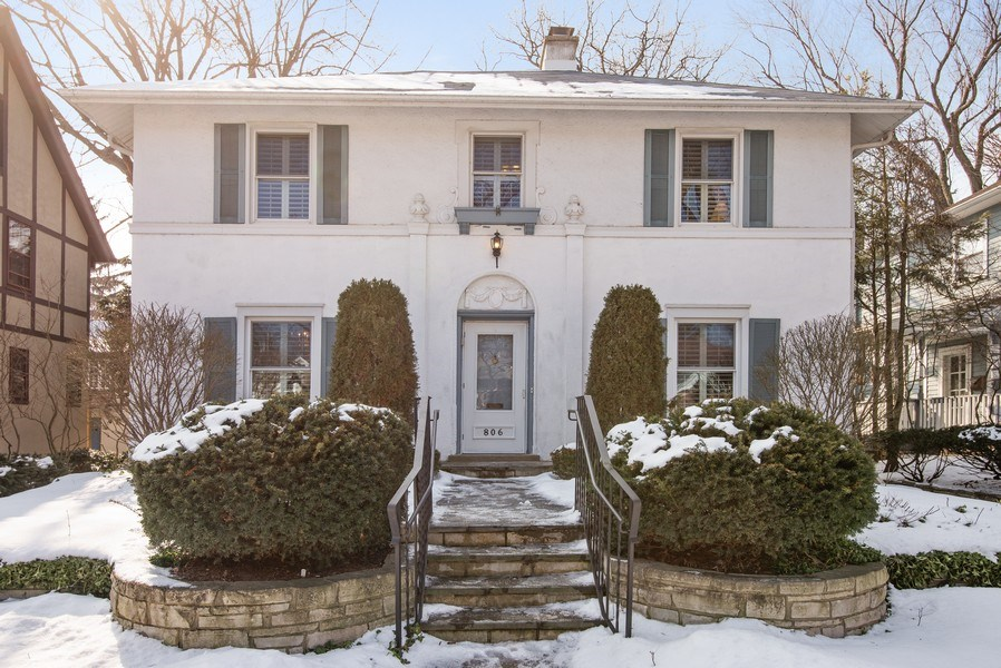 Real Estate Photography - 806 Clinton Place, evanston, IL, 60201 - Front View