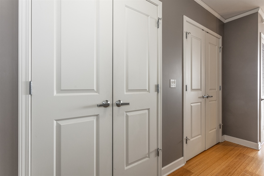 Real Estate Photography - 225 N Columbus, 5406, Chicago, IL, 60601 - Closet