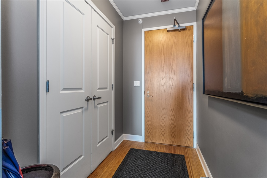 Real Estate Photography - 225 N Columbus, 5406, Chicago, IL, 60601 - Entryway