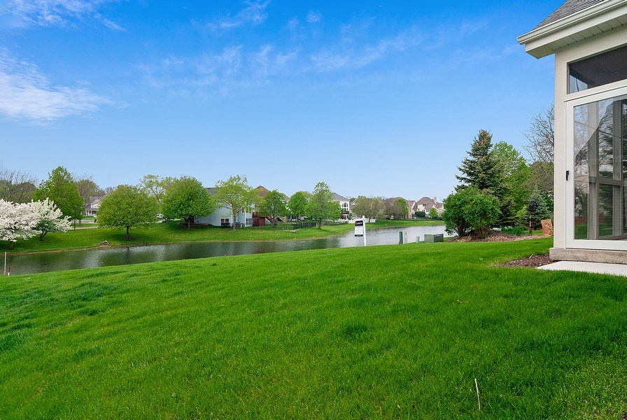 Real Estate Photography - 620 Highland, Elburn, IL, 60119 - Back Yard