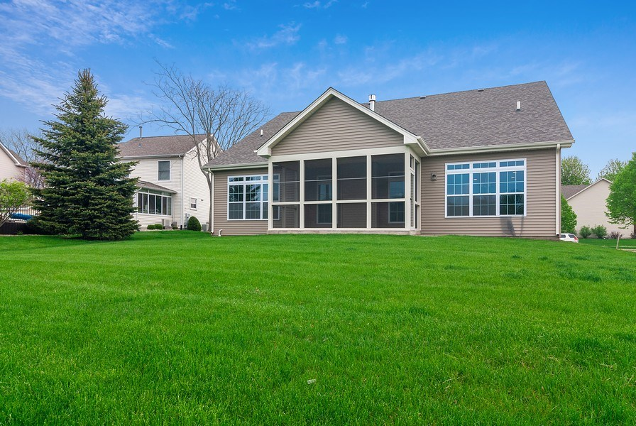 Real Estate Photography - 620 Highland, Elburn, IL, 60119 - Rear View