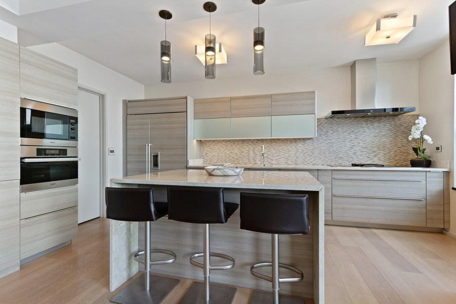 Real Estate Photography - 1040 Lake Shore Dr, Unit 15A, Chicago, IL, 60611 - Kitchen
