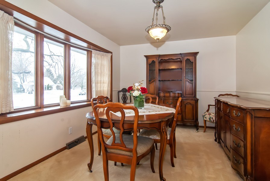 Real Estate Photography - 390 LRA Dr, Aurora, IL, 60506 - Dining Room