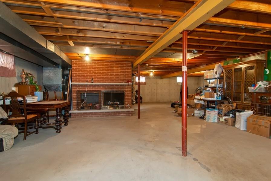 Real Estate Photography - 390 LRA Dr, Aurora, IL, 60506 - Basement
