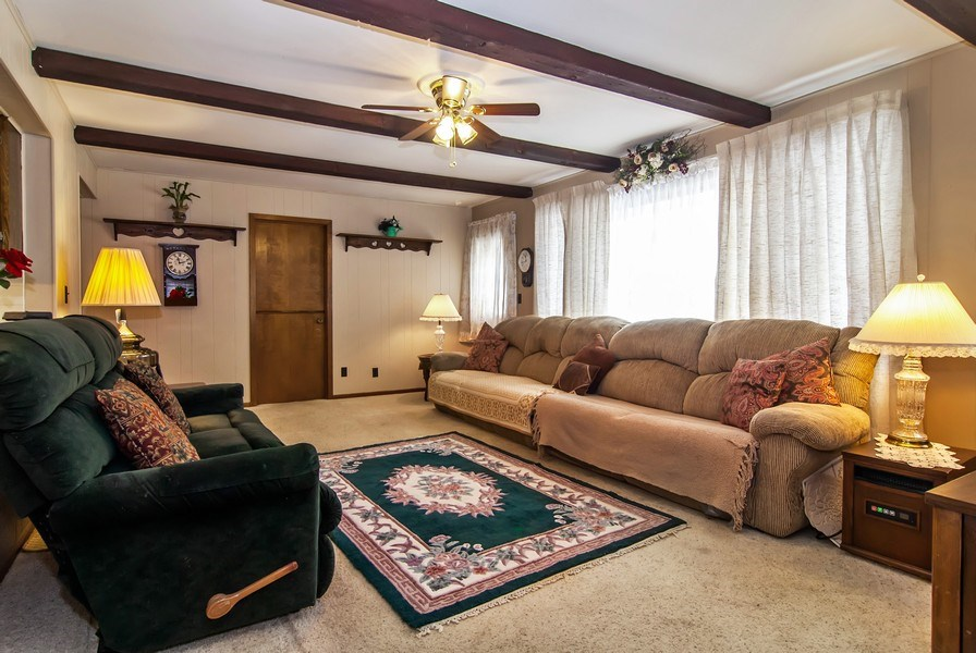 Real Estate Photography - 390 LRA Dr, Aurora, IL, 60506 - Family Room