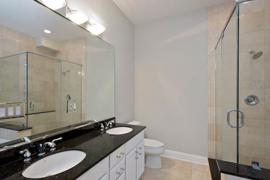 Real Estate Photography - 1363 N Mohawk, Unit 1, Chicago, IL, 60610 - Master Bathroom