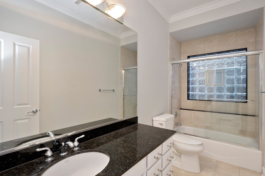 Real Estate Photography - 1363 N Mohawk, Unit 1, Chicago, IL, 60610 - Bathroom