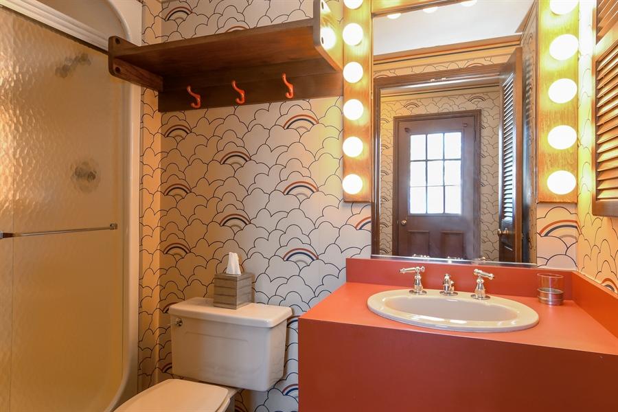 Real Estate Photography - 1041 Locust Rd, Wilmette, IL, 60091 - Pool Bathroom