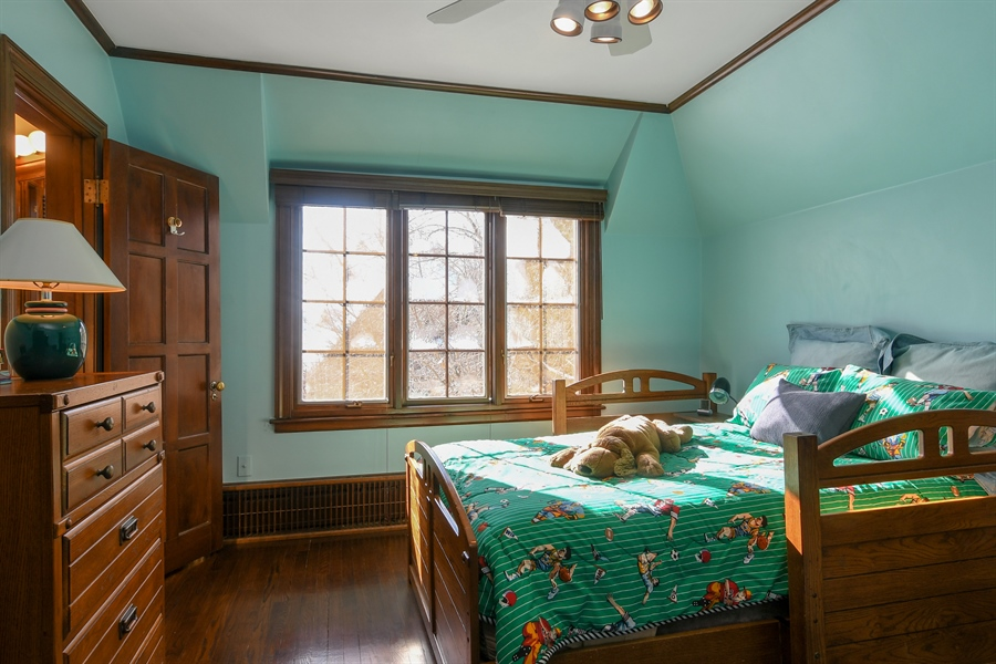 Real Estate Photography - 1041 Locust Rd, Wilmette, IL, 60091 - 3rd Bedroom