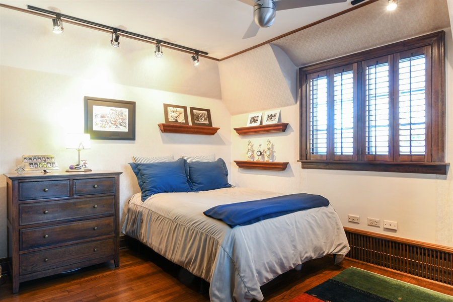 Real Estate Photography - 1041 Locust Rd, Wilmette, IL, 60091 - 4th Bedroom