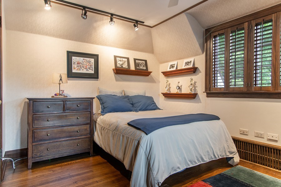 Real Estate Photography - 1041 Locust Rd, Wilmette, IL, 60091 - Bedroom
