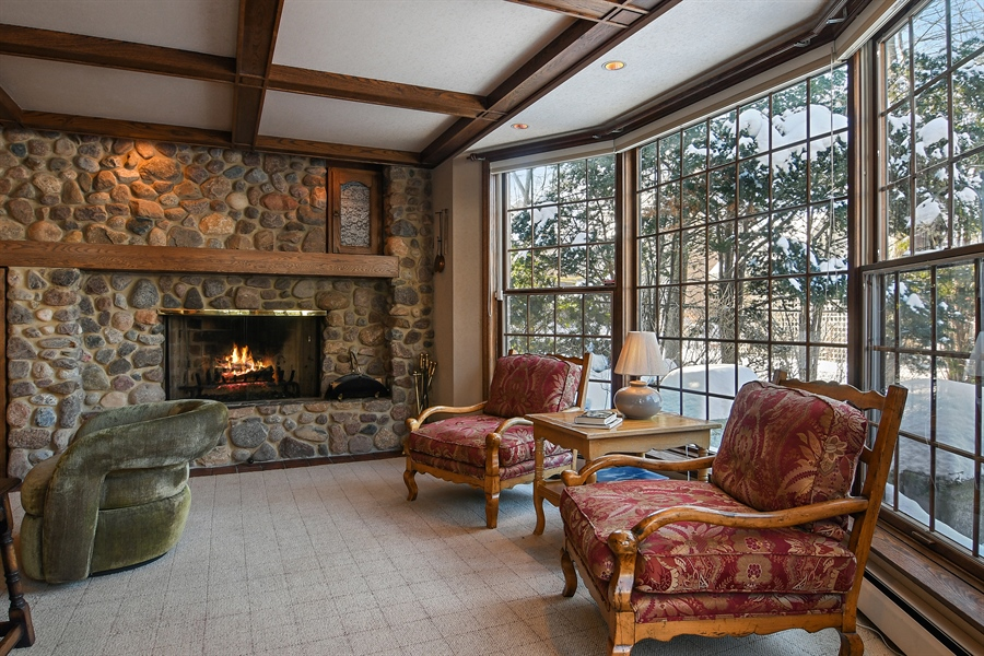 Real Estate Photography - 1041 Locust Rd, Wilmette, IL, 60091 - Family Room