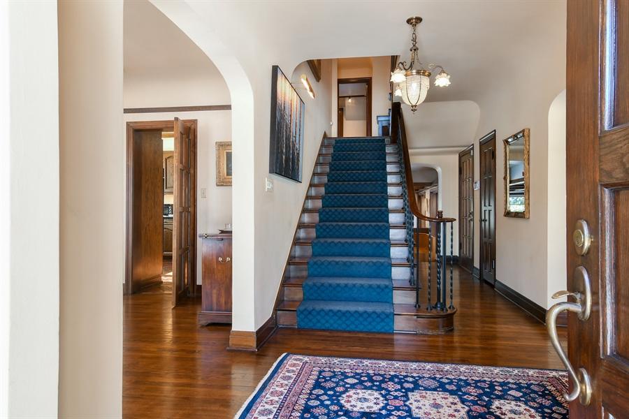 Real Estate Photography - 1041 Locust Rd, Wilmette, IL, 60091 - Foyer