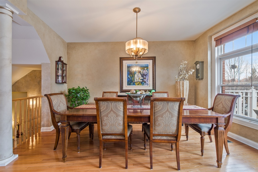 Real Estate Photography - 2048 Valor Ct, Glenview, IL, 60026 - Dining Room