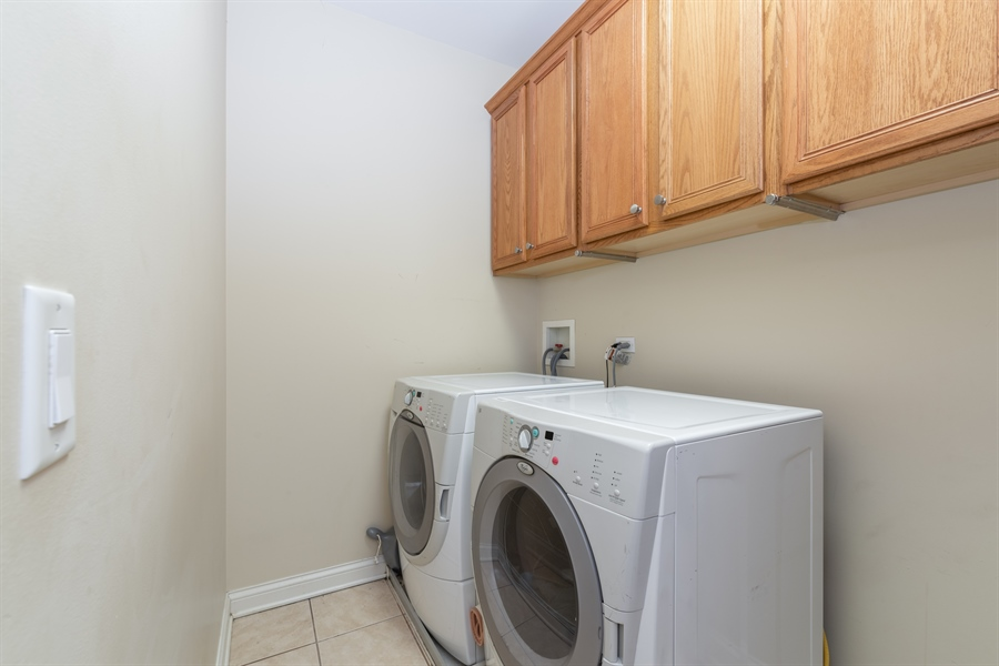 Real Estate Photography - 2048 Valor Ct, Glenview, IL, 60026 - Laundry Room