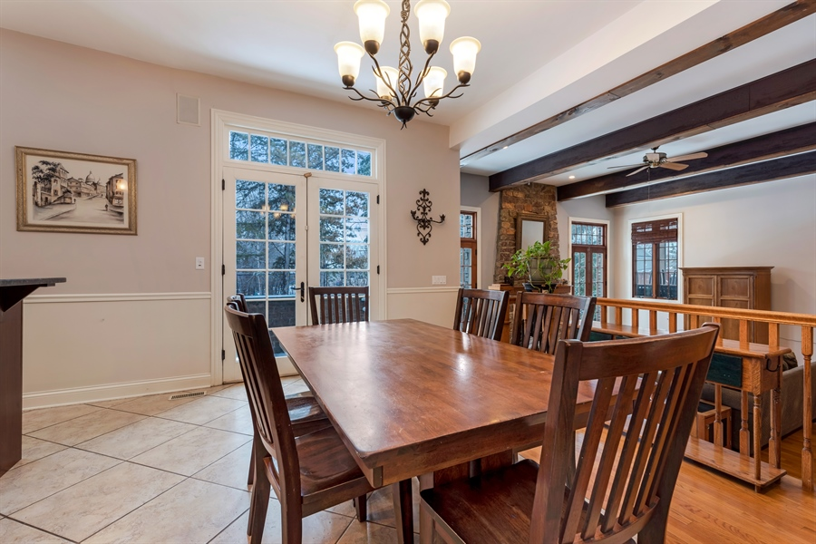 Real Estate Photography - 809 Glenwood Ln, Glenview, IL, 60025 - Dining Area