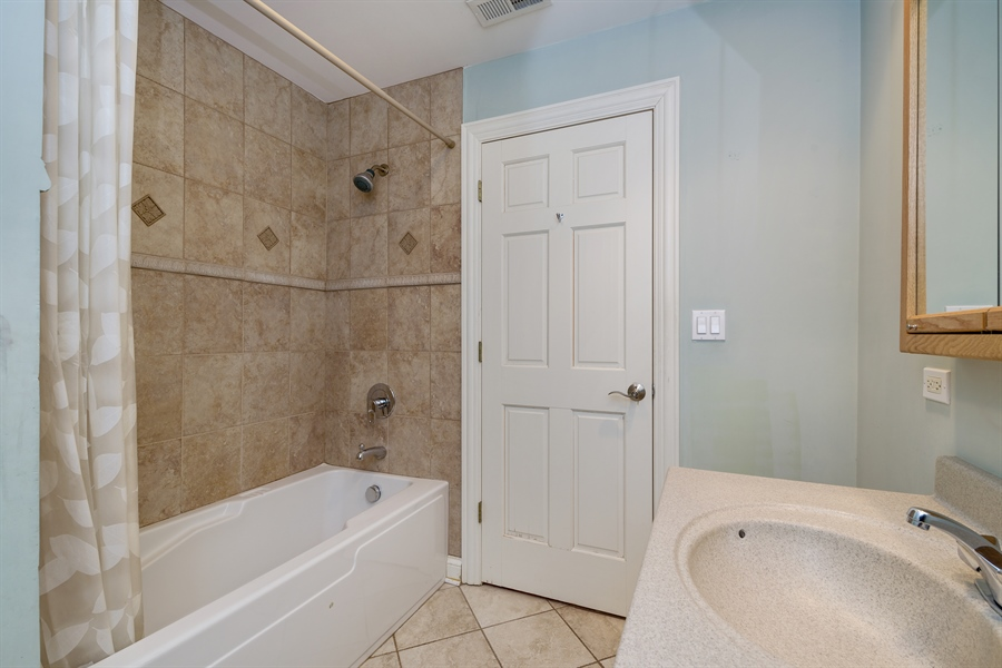 Real Estate Photography - 809 Glenwood Ln, Glenview, IL, 60025 - Bathroom