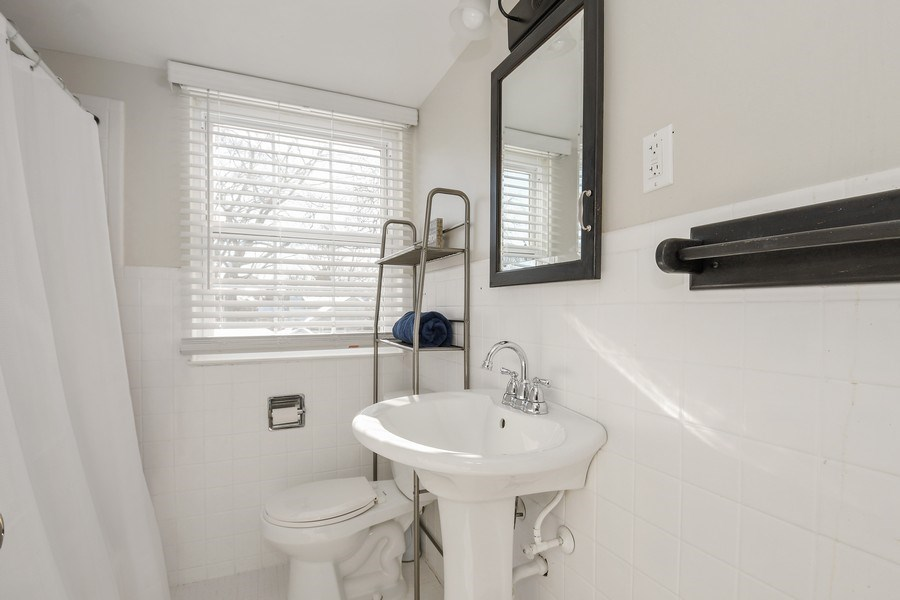 Real Estate Photography - 1733 Stevens Dr, Glenview, IL, 60025 - 3rd Bathroom