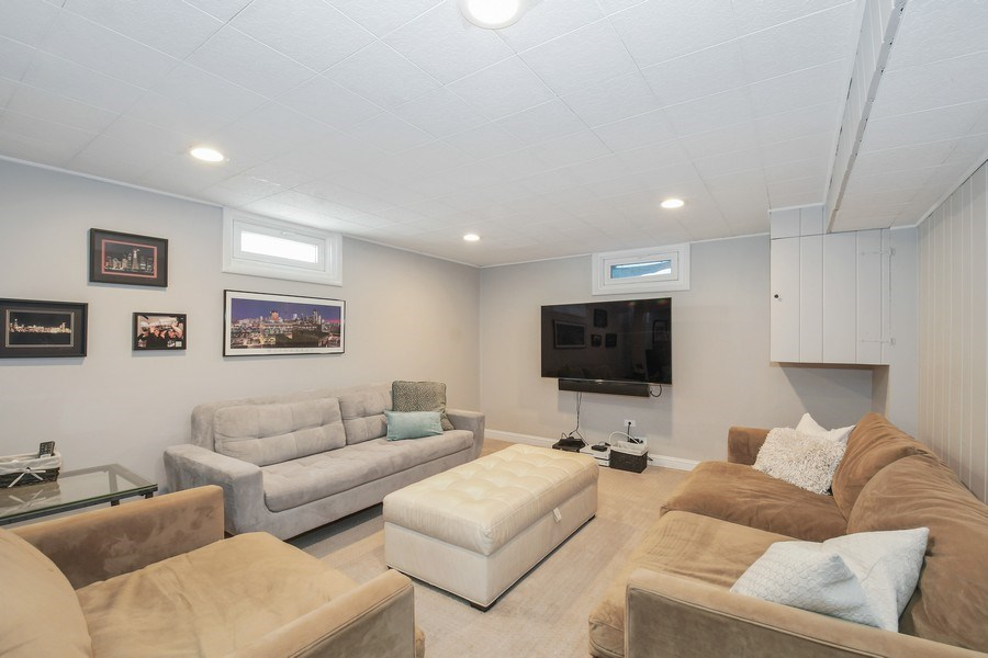 Real Estate Photography - 1733 Stevens Dr, Glenview, IL, 60025 - Basement